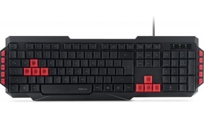Speedlink klaviatuur Ludicium Nordic (SL-670009-BK-NC)