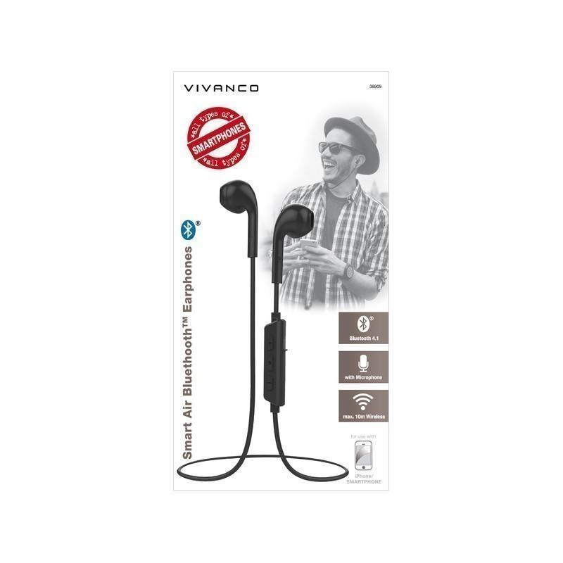Vivanco wireless headset Smart Air 3, grey (38909)