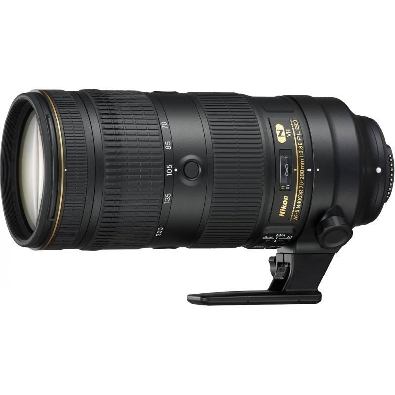 Nikon AF-S Nikkor 70-200mm f/2.8E FL ED VR objektiiv