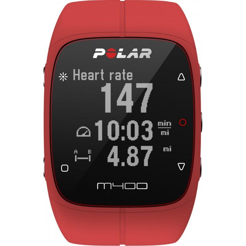 Polar M400 HR, punane