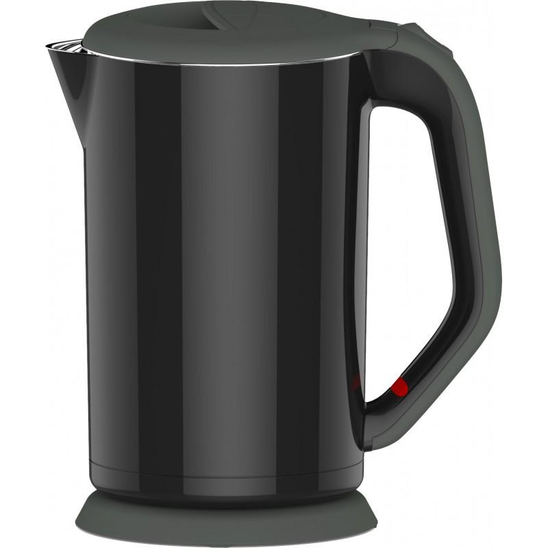 Platinet kettle PEKD1818B, black (44152)