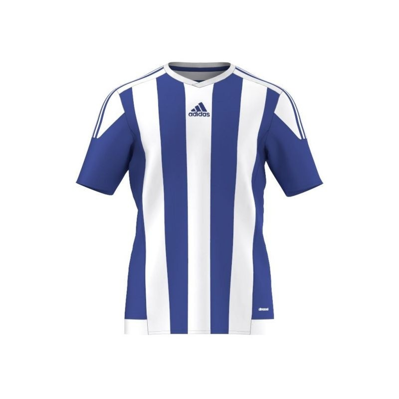 carril Obligatorio Ejercer  Children's football shirt adidas STRIPED 15 JSY Junior S16138 - Shirts &  tank tops - Photopoint