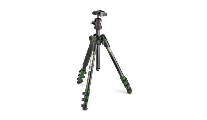Manfrotto statiiv Befree Color MKBFRA4GR-BH, roheline