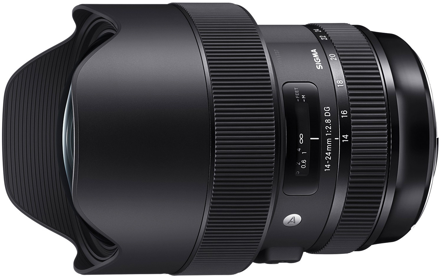Sigma 14-24mm f/2.8 DG HSM Art objektiiv..