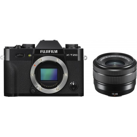 Fujifilm X-T20 + 15-45mm Kit, must