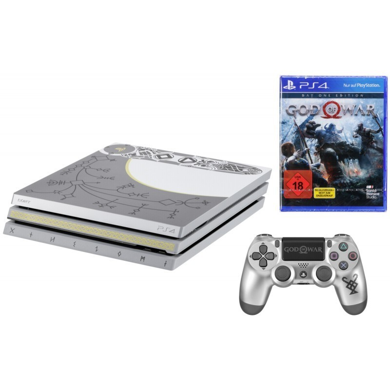 6c68776ca6c Sony Playstation 4 Pro 1TB incl. God of War limited USK 18 - Mängukonsoolid  - Photopoint