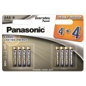 Panasonic Everyday Power patarei LR03EPS/8BW (4+4)
