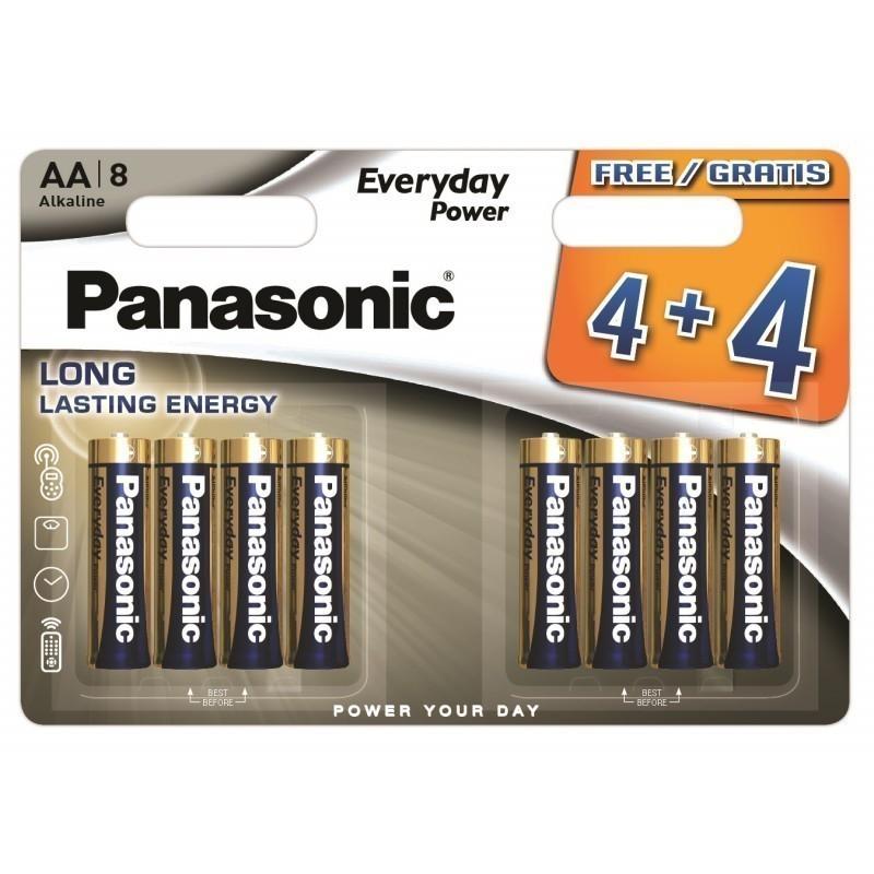 Panasonic Everyday Power baterija LR6EPS/8BW (4+4)