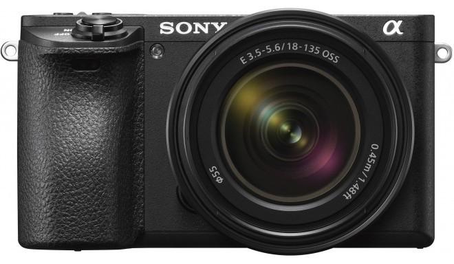 Sony a6500 + 18-135 мм Kit, черный