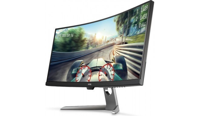 Monitor BenQ EX3501R 35inch curved,  3440x1440 HDR; panel VA,  /HDMIx2/DP/USB