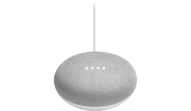 Google Home Mini колонка, chalk