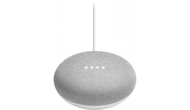 Google Home Mini viedais skaļrunis, krīta krāsā