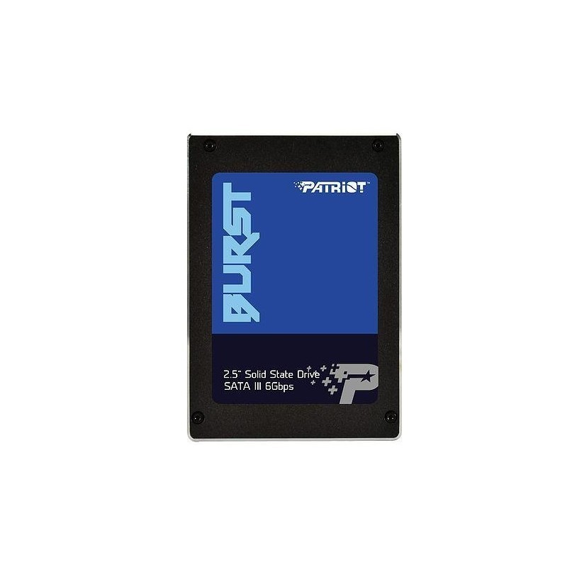 "SSD   PATRIOT   480GB   SATA 3.0   Write speed 540 MBytes/sec   Read speed 560 MBytes/sec   2,5""   M"