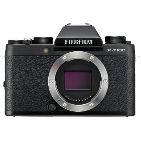 Fujifilm X-T100 korpuss, melns