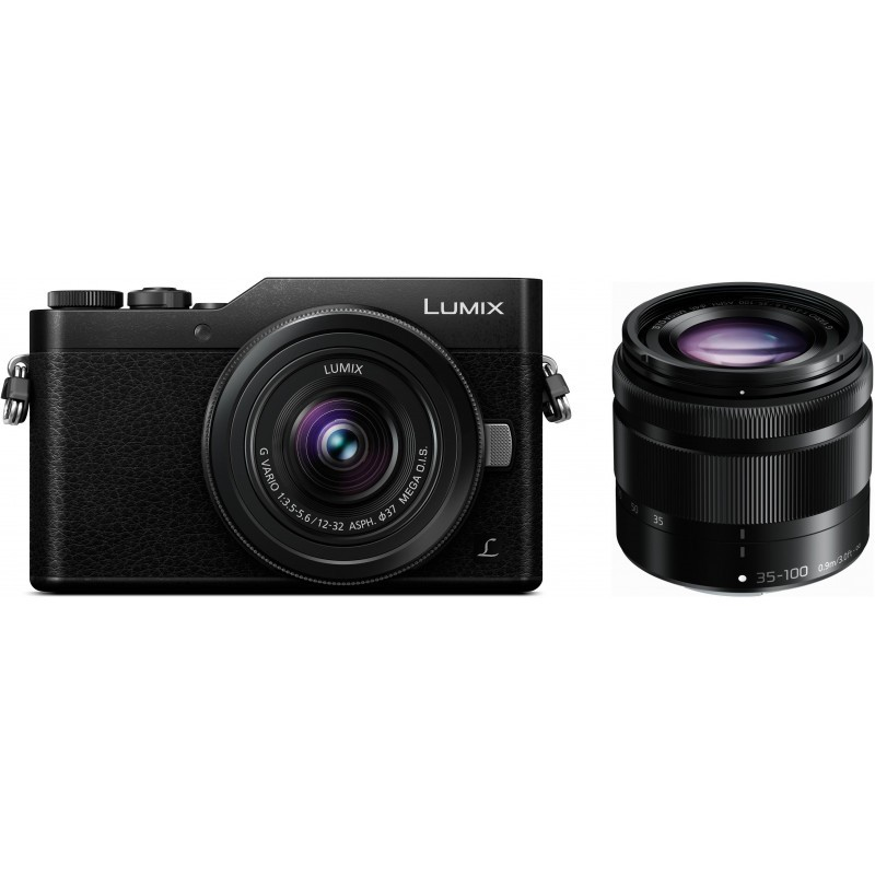 Panasonic Lumix DC-GX800 + 12-32mm + 35-100mm Kit, must
