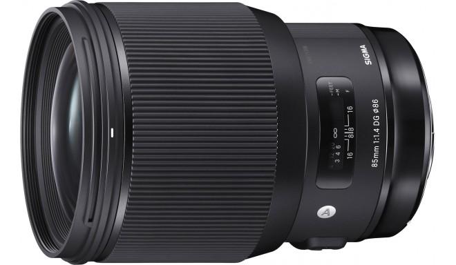 Sigma 85mm f/1.4 DG HSM Art objektiiv Canonile