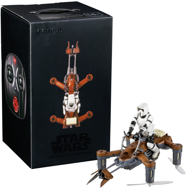 Propel droon Star Wars Speeder Bike Collectors Ed..