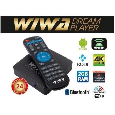 Tuner WIWA Dream Player 2790Z (Bluetooth, LAN (RJ-45), Miracast, WiFi