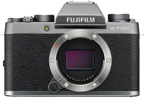 Fujifilm X-T100 kere, dark silver