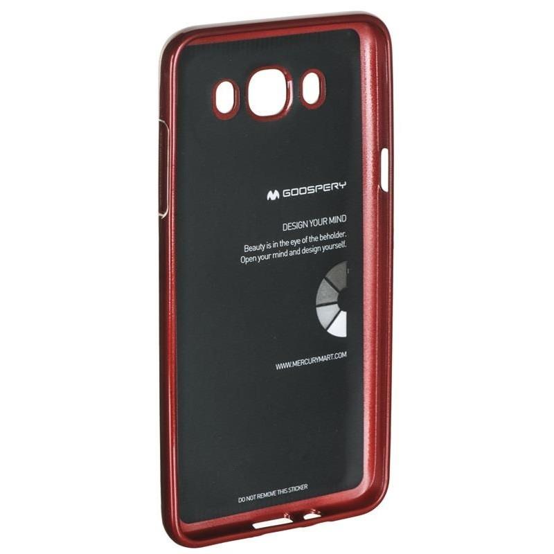 """Etui do telefonu Mercury Jelly Case (5"""" do Galaxy J7 (2016) czerwony"""