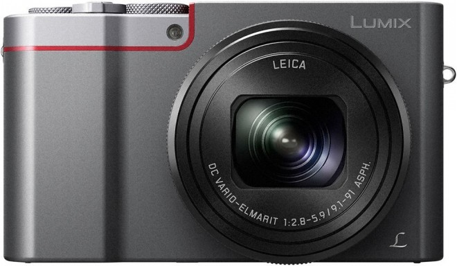 Panasonic Lumix DMC-TZ100, silver + extra battery
