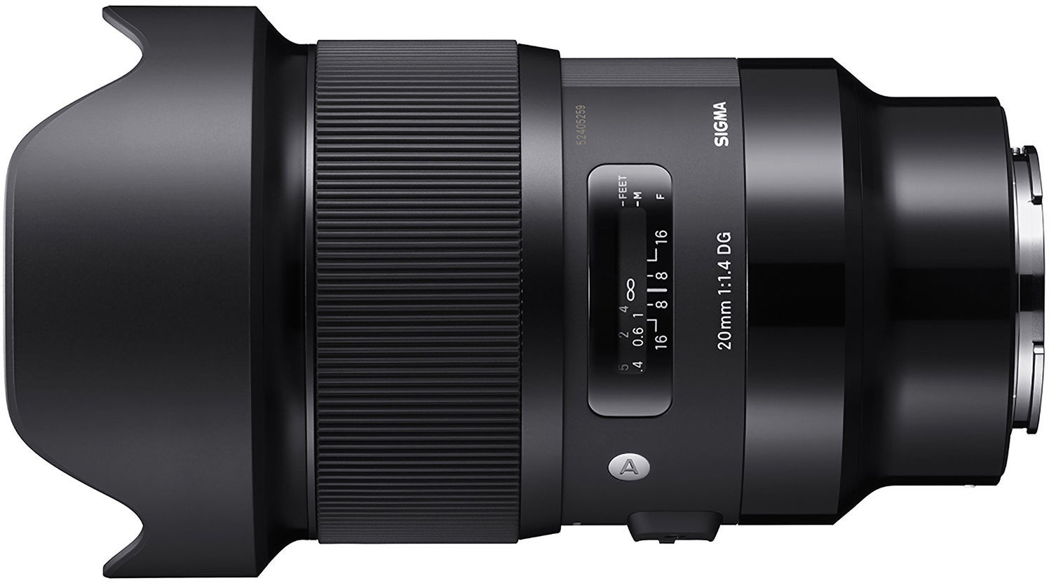 Sigma 20mm f/1.4 DG HSM Art objektiiv So..