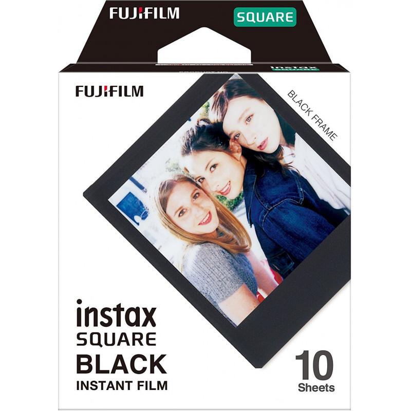 Fujifilm Instax Square 1x10 Black Frame