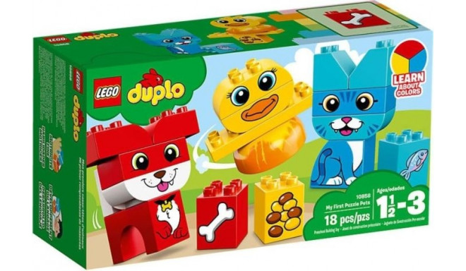 LEGO DUPLO mänguklotsid My First Puzzle Pets (10858)