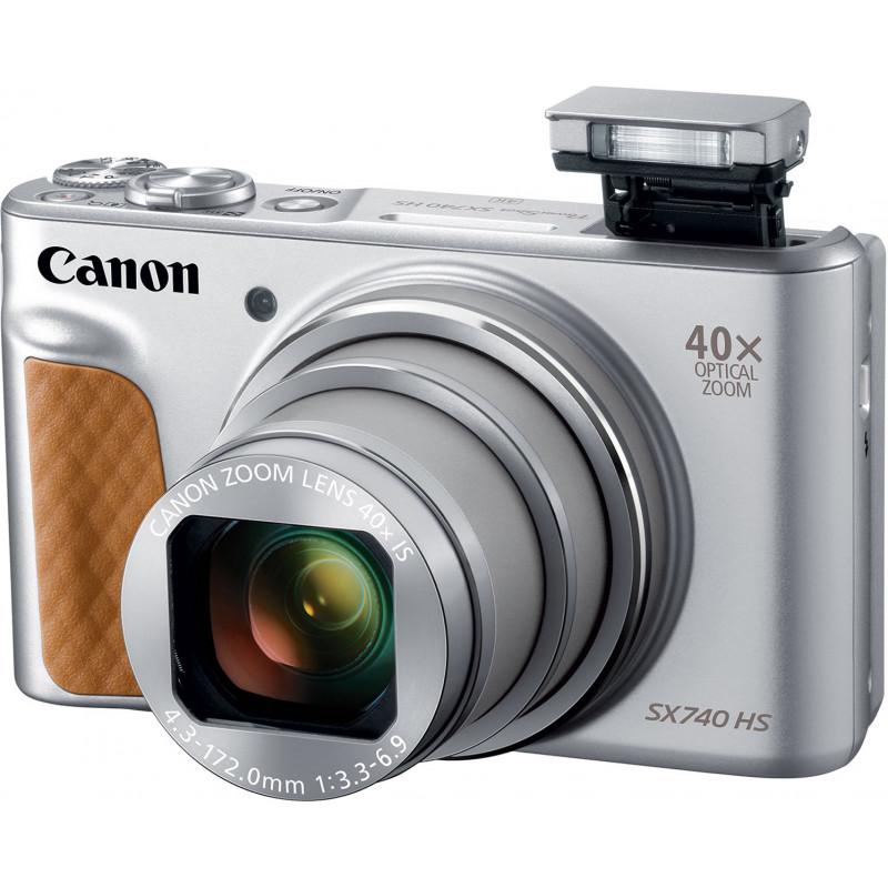 Canon Powershot SX740 HS, hõbedane