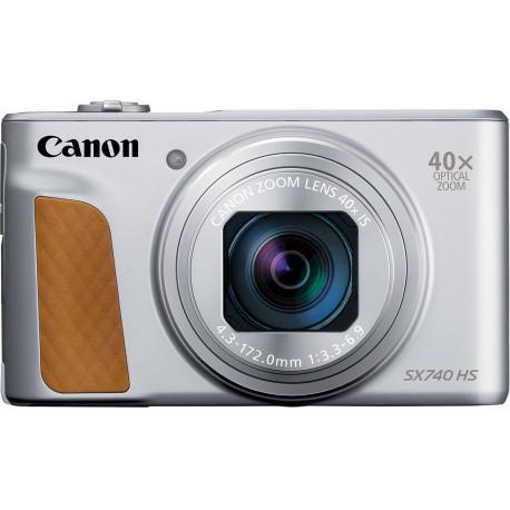 Canon Powershot SX740 HS, sudrabots