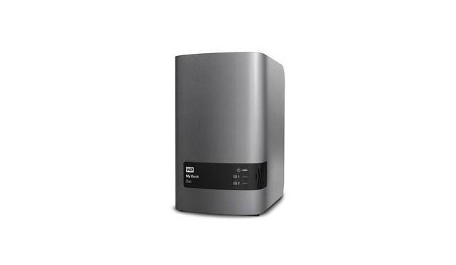 External HDD | WESTERN DIGITAL | My Book Duo | 8TB | USB 2 0 | USB 3 0 |  WDBLWE0080JCH-EESN