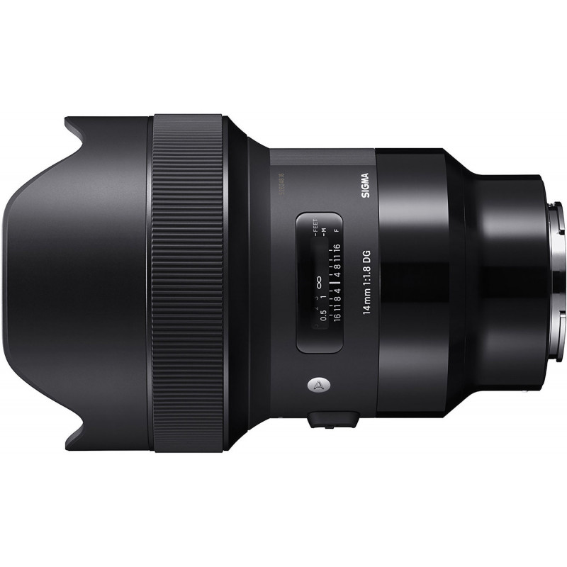 Sigma 14mm f/1.8 DG HSM Art objektiiv Sonyle