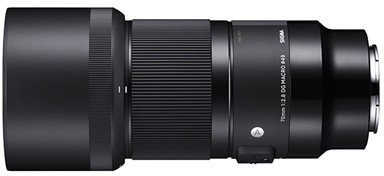 Sigma 70mm f/2.8 DG Macro Art objektiiv Sonyle