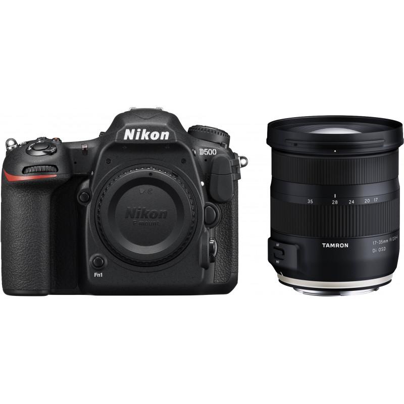 Nikon D500 + Tamron 17-35mm OSD