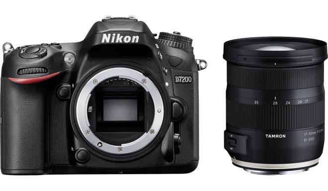 Nikon D7200 + Tamron 17-35mm OSD