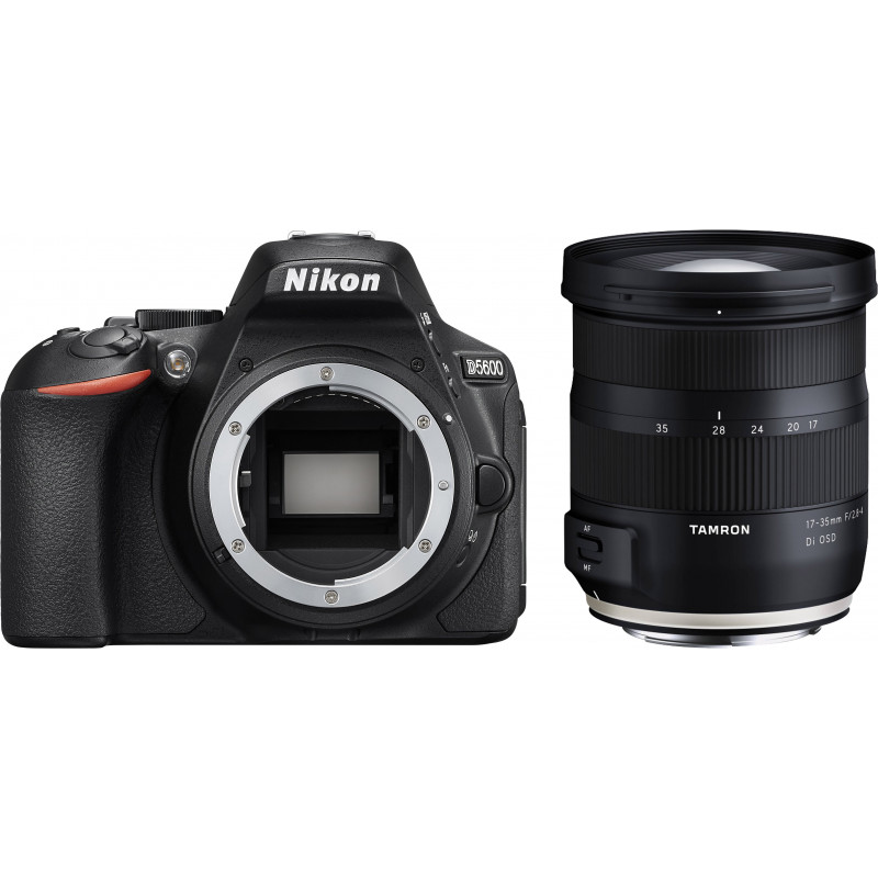 Nikon D5600 + Tamron 17-35mm OSD