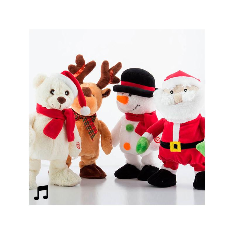dancing and singing christmas figurine santa claus - Singing Christmas Toys
