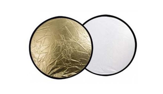 Linkstar reflector 30cm 2in1, golden/silver (R-30GS)