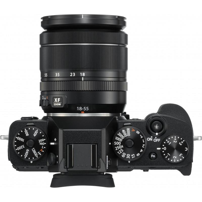 dc379b86f21 Fujifilm X-T3 + 18-55mm Kit, must - Hübriidkaamerad - Photopoint