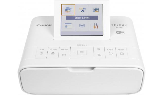 Canon принтер Selphy CP-1300, белый
