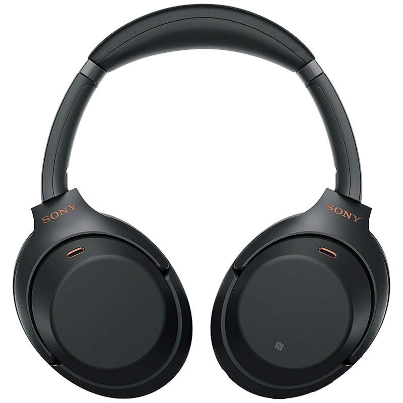 Sony juhtmevabad kõrvaklapid + mikrofon WH1000XM3, must