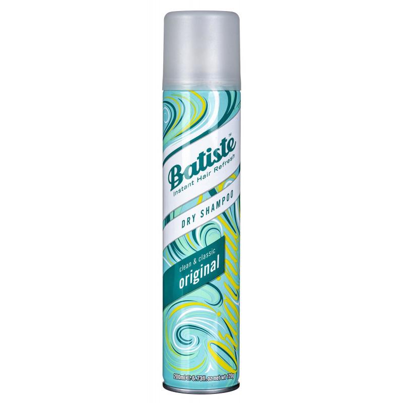 Dry shampoo Batiste Original (For women; 200 ml)