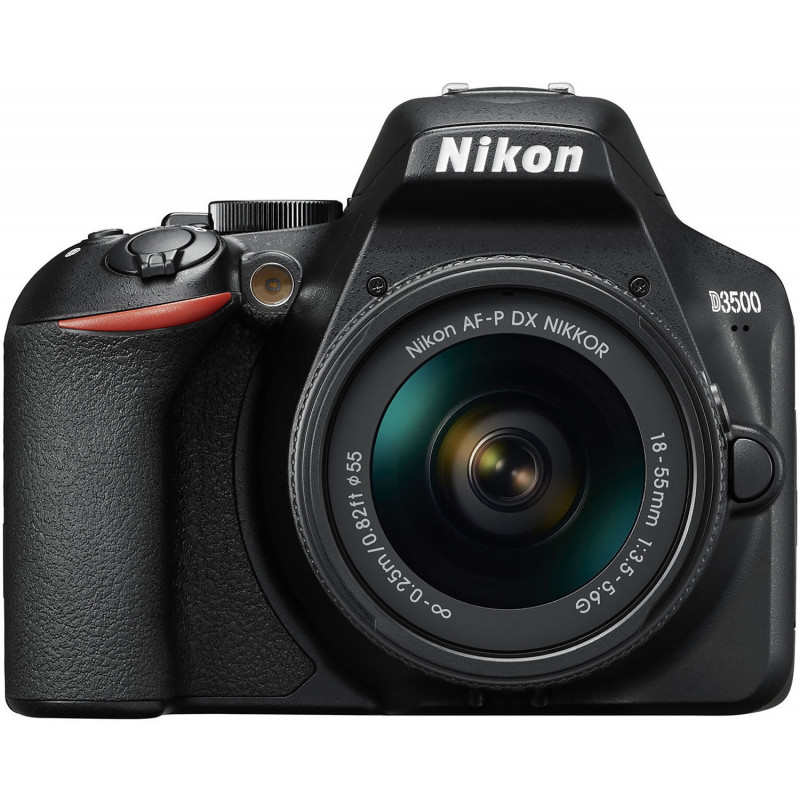 Nikon D3500 + 18-55mm AF-P Kit, must