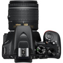Nikon D3500 + 18-55mm AF-P + 70-300mm Kit, black