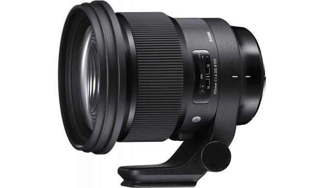 Sigma 105mm f/1.4 DG HSM Art objektiiv Canonile