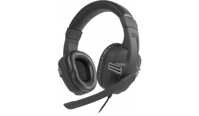 Speedlink наушники + микрофон Versico, черный/серый (SL-870001-BKGY-01)