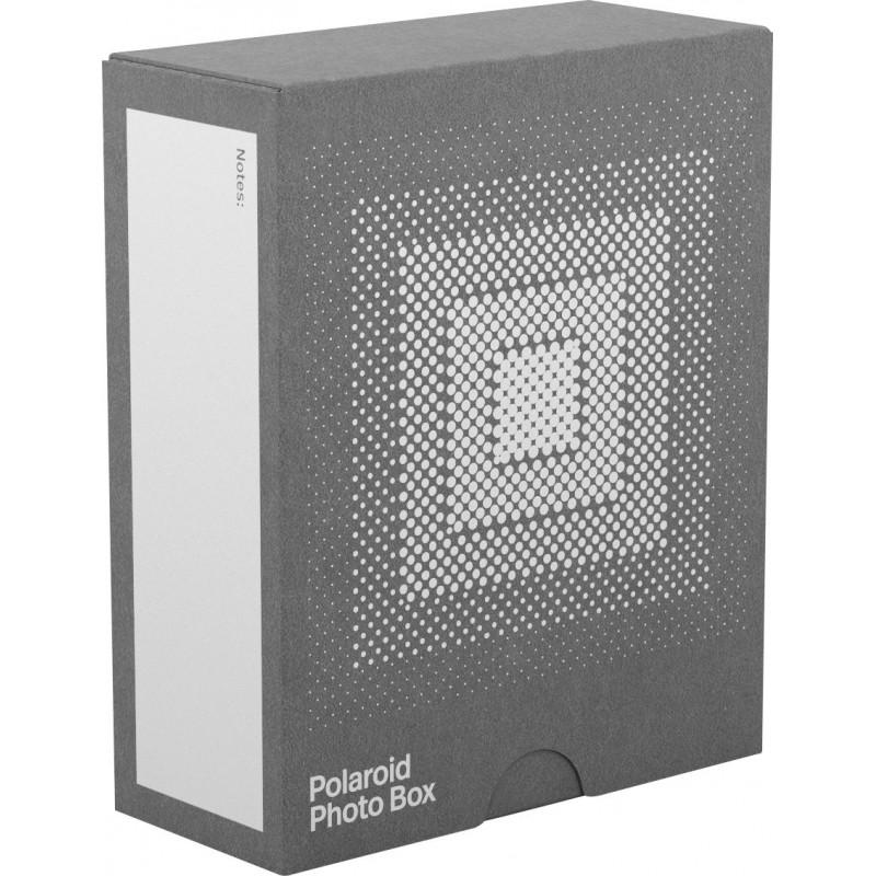 Polaroid photo box for 40 photos, grey