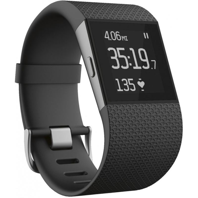 Fitbit Surge L, черный
