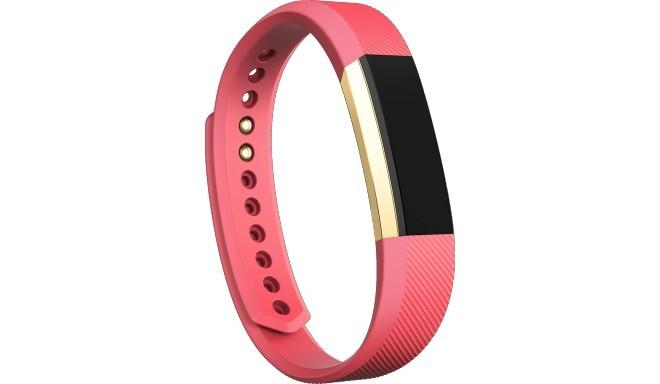 Fitbit трекер активности Alta S, золотистый/розовый