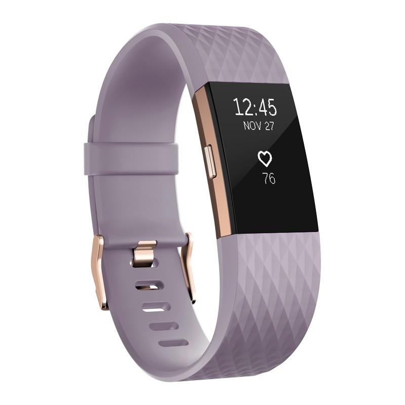Fitbit трекер активности Charge 2 S, лавандовый/розовый